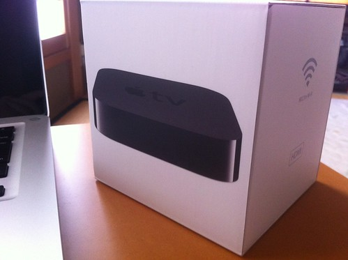 Apple TV 届いた!