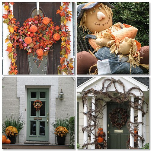Fall Door Mosaic