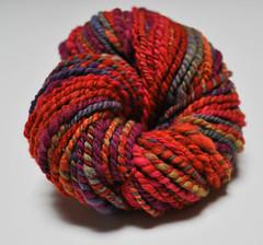 Handspun Lollytree Autumn Rainbow!
