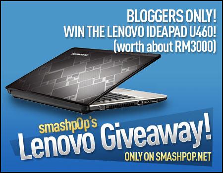 smashpop lenovo ideapad giveaway