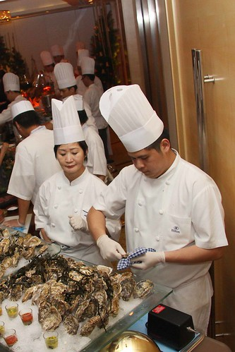 Oysters from Canada, New Zealond and Australia