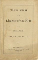 1872 Mint Report