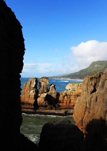 Punakaiki Pancake Rocks & Blowholes, day 8