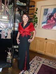 """Faye, dressmaking -silk and beaded lace dress. September 2010 • <a style=""""font-size:0.8em;"""" href=""""http://www.flickr.com/photos/48423784@N05/5176247901/"""" target=""""_blank"""">View on Flickr</a>"""