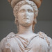 Caryatid (bust), Erechtheion, Acropolis, Athens