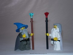 Lord of the Rings Custom Lego Gandalf & Saruman
