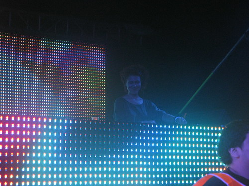 Cassy in Cocoon Arena @ Creamfields Buenos Aires 2010