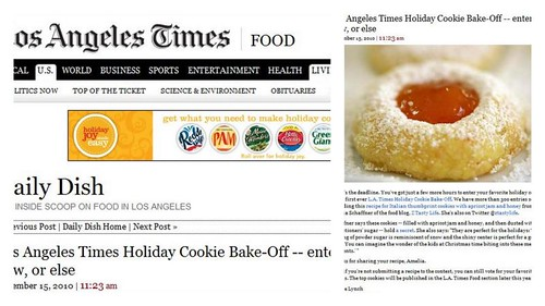 LA Times Food feature