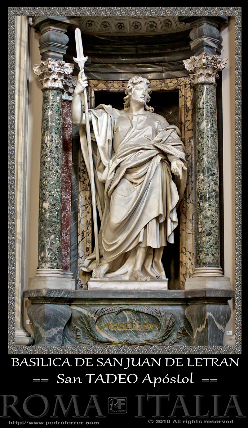 Roma - Basílica de San Juan de Letrán - San Judas Tadeo Apóstol