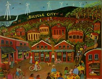 bicycle city, south carolina