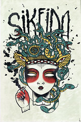 • stoned • (• trevor▲nicholls •) Tags: art strange monster dark weird artist trevor unique n illustrations drawings style creepy indie designs illustrator draw bizarre aesthetics nicholls trevy