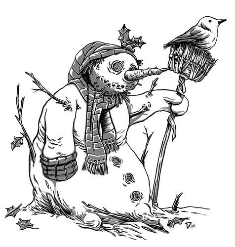 snowman-tinta