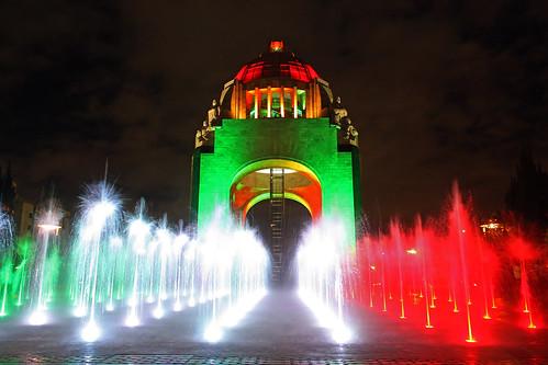 El renovado Monumento a la  Revolución