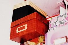 (Melting Hearts) Tags: film 35mm closet box grain storage boxes grainy