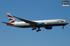 G-YMMC - 30304 - British Airways - Boeing 777-236ER - Heathrow - 100617 - Steven Gray - IMG_4927