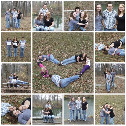 Heart & friends collage