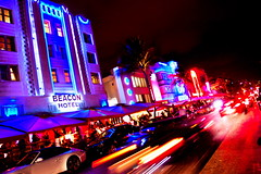Ocean Drive Miami Beach, Fl. (minds-eye) Tags: beach florida miami south artdeco sobe