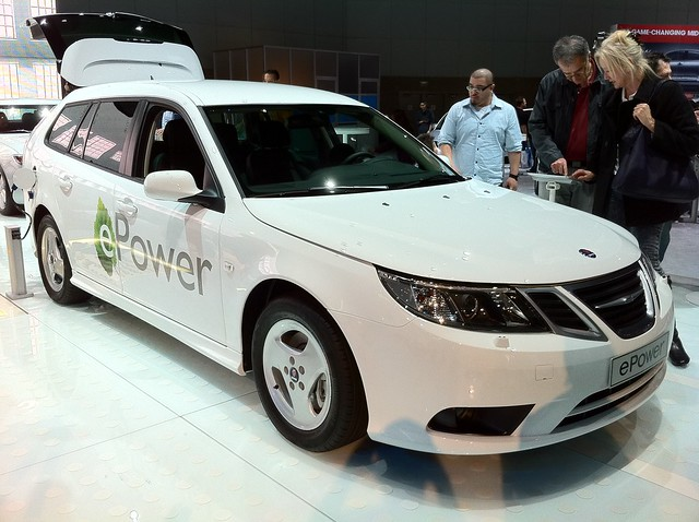 Saab Electric Wagon
