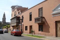Casarões antigo em Lima