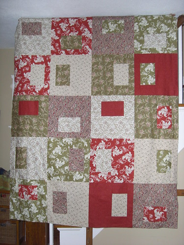 Quilt top for M&D