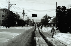 Fort Street in the '96 blizzard