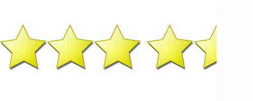 4 5 Stars