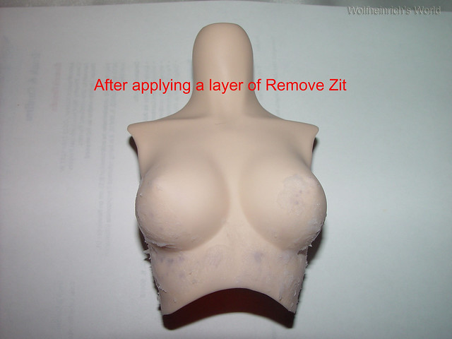 Dollfie Dream Stain Removal Process