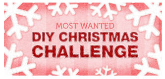 Most wanted xmas challenge logo