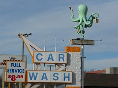 RIP - Octopus Car Wash (altfelix11) Tags: illinois carwash octopus statestreet rockford vintagesign arrowsign highway20 octopuscarwash usroute20 businessroute20