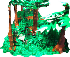 Next MOC Sneak Peak (Cuahchic) Tags: plant tree lego military wip jungle diorama specialforces sneakpeak modernmilitary