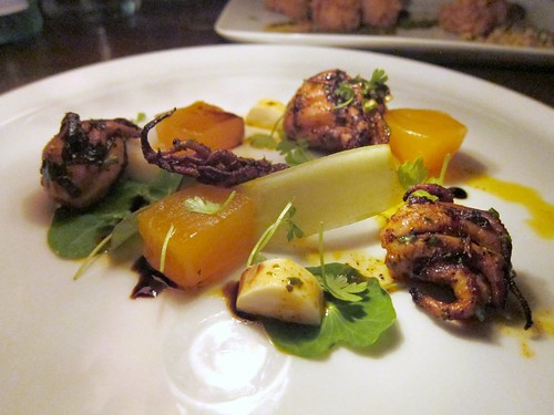Grilled Octopus at 1886