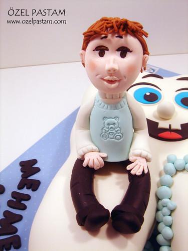 M. Sezgin'in Diş Buğdayı Pastası / Tooth Cake