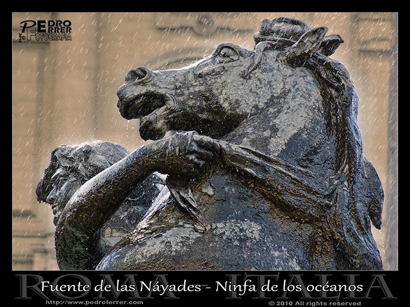 Roma - Fuente de las Náyades - Ninfa de los océanos