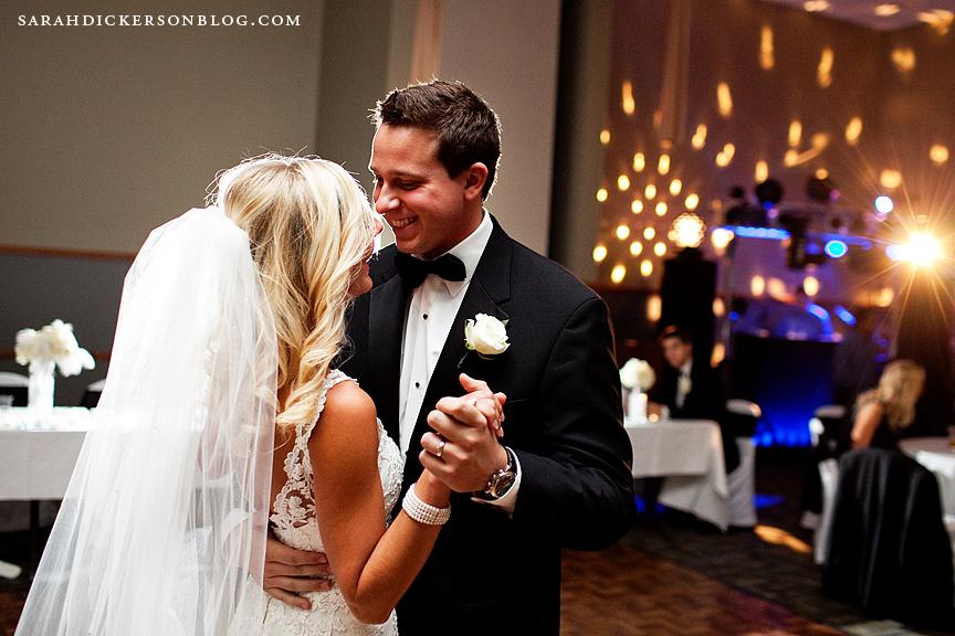 Kansas City wedding photography Ball Conference Center reception