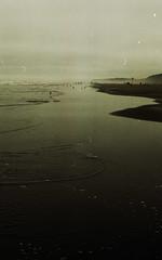 (crystalwood) Tags: film beach 35mm coast washington soft dreamy hazy