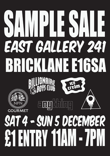 Sample Sale BLK
