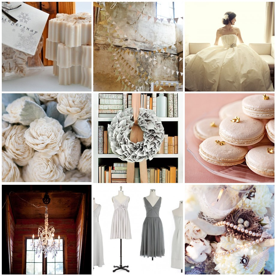 Winter Peach Wedding Inspiration