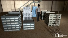 PlayStation Home: city buildings