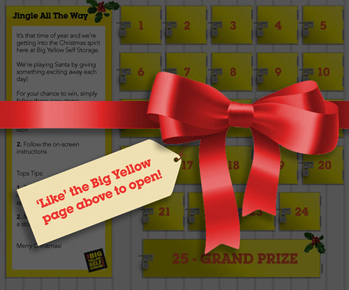 Theres over 350 Prizes to Win with Big Yellow's Christmas Advent Calendar