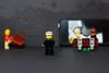 Decisions, Decisions ........... (Nanagyei) Tags: stilllife black colors bench 50mm dof lego widescreen sony fiveoh season2 a700 watchingamovie brushtool itslateandstillnotinbed