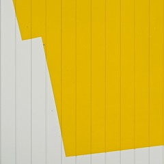 Urban Abstract No 46 (llawsonellis) Tags: outdoors building facade wall graphic yellow white siding minimal minimalistic minimalism urban urbanabstract line lines linear square squareformat mundane nikon nikond5300 rhythms