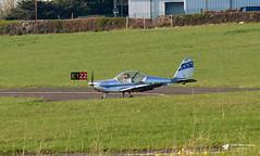 G-SHMI Cosmik Aviation EV-97 TeamEurostar UK, Mike India Flying Group, Gloucestershire Airport, Staverton, Gloucestershire (Kev Slade Too) Tags: gshmi cosmikaviation ev97 teameurostar mikeindiaflyinggroup egbj gloucestershireairport staverton gloucestershire
