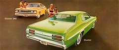 1971 Plymouth Duster & Duster 340 (aldenjewell) Tags: 1971 plymouth duster 340 postcard