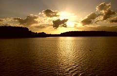 Binnenwasser 2 (Von Noorden her) Tags: sundown sonnenuntergang water wasser sea pond binnenwasser neustadt holstein boat boot boote wolken cloud clouds wolke schatten shadows night nacht abend evening
