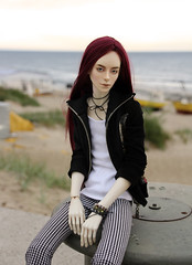 early bird (Dedra Starling) Tags: bjd nabarros wally vacation baltic