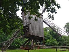 Bockwindmühle (diarnst) Tags: windmühle windmill holzbauten eifel kommern vintage