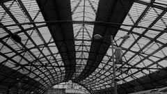 Station canopy (Wider World) Tags: england liverpool limestreet station roof canopy glass 16x9