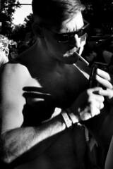Worldpride (Julián del Nogal) Tags: gay gays people pride worldpride portrait retrato cigarette streetphotography