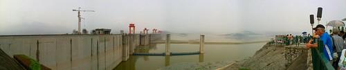 3 Gorges Dam Panorama