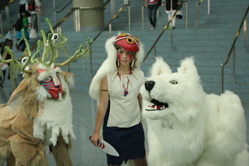 princess mononoke forest spirit. Princess Mononoke, Wolf Spirit